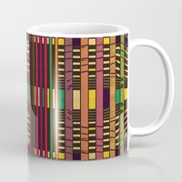 grid Mugs featuring Grid by Glanoramay