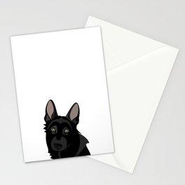 Black is Black Stationery Cards