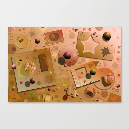Digital Playground Canvas Print