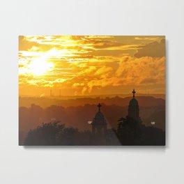 Stormy Summer Sunset (2) Metal Print
