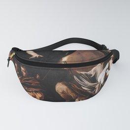 Michelangelo Merisi da Caravaggio - The Seven Works of Mercy Fanny Pack
