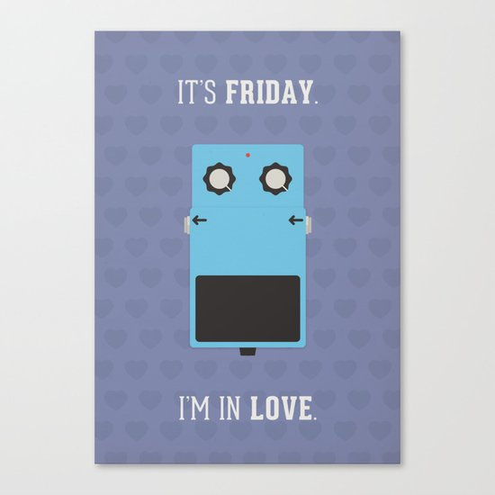 It's Friday! Canvas Print