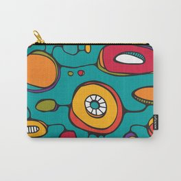 Scribbles 01 in Color Carry-All Pouch