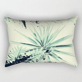 Abstract Urban Garden Rectangular Pillow