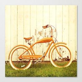 Orange Ride Canvas Print