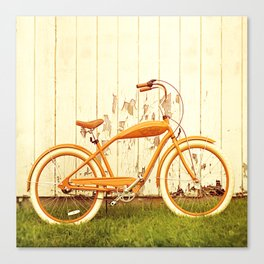Orange Ride Canvas Print