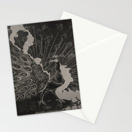 plakate Peacock voyage poster Stationery Cards