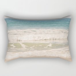 Beach Waves Rectangular Pillow