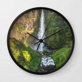 Multnomah Falls Oregon Wall Clock