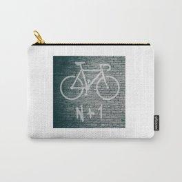 N + 1 Bike Graffiti Carry-All Pouch