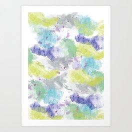 abstract IX Art Print