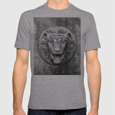 Classical Lion Mens Fitted Tee Athletic Grey SMALL