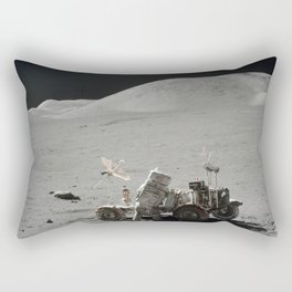 Apollo 17 - Lunar Rover Work Rectangular Pillow