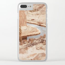 Smith Rock #photography #oregon #smithrock Clear iPhone Case