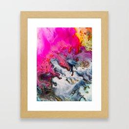Abstract Melt XII Framed Art Print