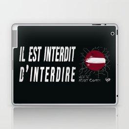 Paris I love you Laptop & iPad Skin