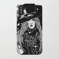 stevie nicks iPhone & iPod Cases featuring Blacklights Stevie by Lynette K.