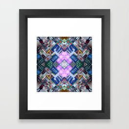 Hong Kong Kaleidoscope 03 Framed Art Print