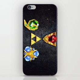 The Timeless Legend of Zelda Inspired Spiritual Stones iPhone Skin
