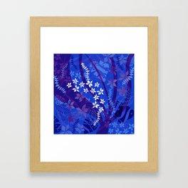 Hawaiian Swirl Framed Art Print