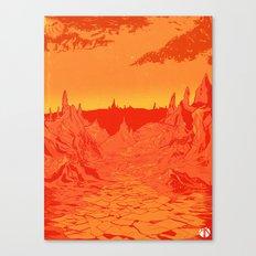Futurescape 1 Canvas Print