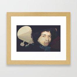 Jimi H. Framed Art Print