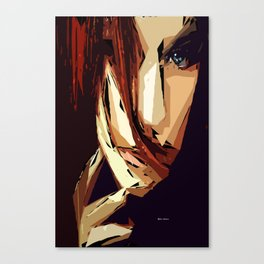 Female Expressions XIII Canvas Print
