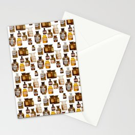 Vintage Chemistry Bottles Stationery Cards