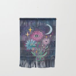 Moonflowers Wall Hanging