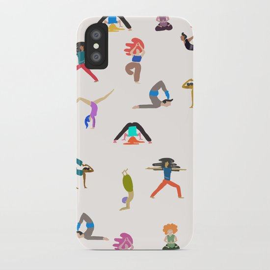 yoga lovers iPhone Case