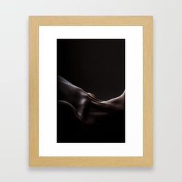 Moonlight skin Framed Art Print