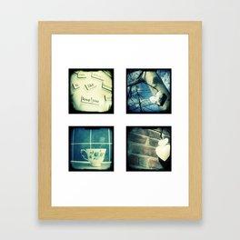 Four mini images Framed Art Print