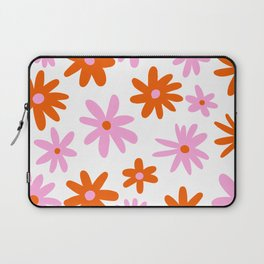 Bright Floral Laptop Sleeve