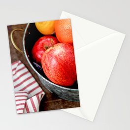 Apples and Oranges Stationery Cards