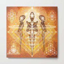Psionic Legacy Metal Print