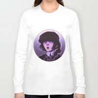 goth Long Sleeve T-shirts featuring shoujo goth by Frank Odlaws