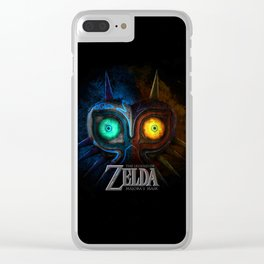 MAJORA MASK - ZELDA Clear iPhone Case
