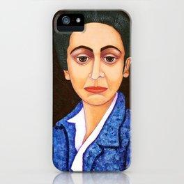 M. Helena Vieira da Silva - dialogue between abstraction and figuration iPhone Case
