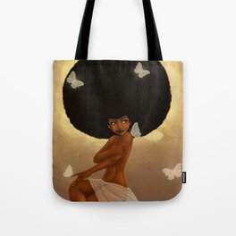 Fro and Butterflies Tote Bag