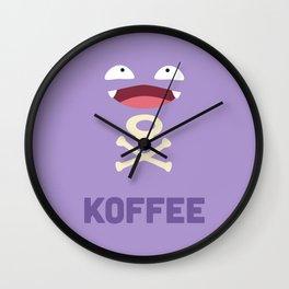 Koffee Wall Clock