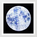 Moon Map Noir by sirenarts