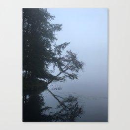 Adirondack Foggy Reflection Canvas Print