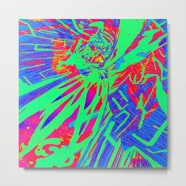 Explode Metal Print