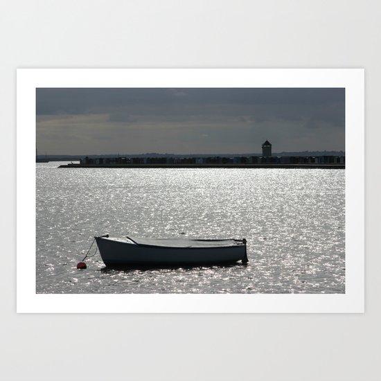 Brightlingsea Essex UK Art Print
