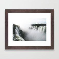 Iguazu Falls V Framed Art Print