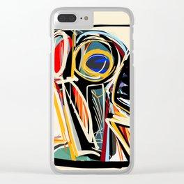 The Scream Street Art Graffiti Clear iPhone Case