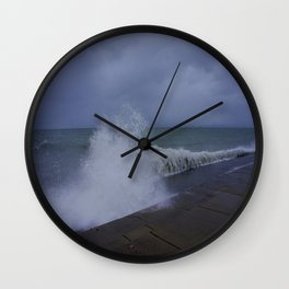 The Gale of Halloween '14 #1 (Chicago Waves Collection) Wall Clock