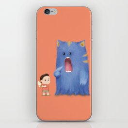 Hungry Monster iPhone Skin