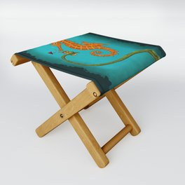 Drinking Buddies Folding Stool