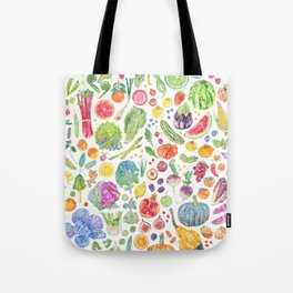 Seasonal Harvests Tote Bag